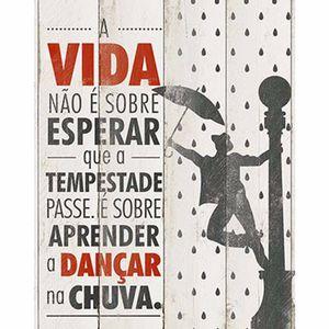 Placa-Decorativa-Litoarte-DHPM-271-24x19cm-A-Vida-nao-e-Sobre-Esperar