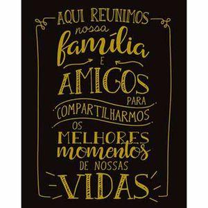Placa-Decorativa-Lousa-Litoarte-DHPM-304-24x19cm-Aqui-Reunimos-Nossa-Familia