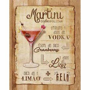 Placa-Decorativa-Litoarte-DHPM-310-24x19cm-Receita-Martini