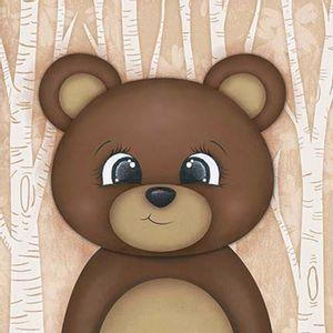 Placa-Decorativa-3D-Litoarte-DHPM5-200-19x19cm-Urso