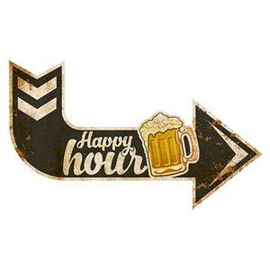 Placa-Decorativa-Litoarte-DHPM6-002-44x26cm-Happy-Hour