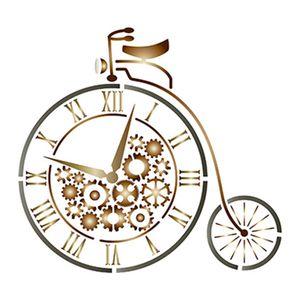 Stencil-Litoarte-STM-543-211X172cm-Pintura-Simples-Bicicleta-de-Circo