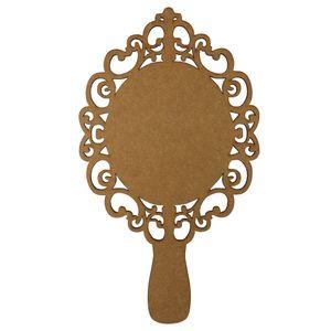 Moldura-Espelho-de-Mao-em-MDF-30x17cm-Provencal---Palacio-da-Arte