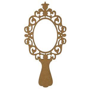 Moldura-Espelho-de-Mao-em-MDF-20x98cm-Vazado-Flor---Palacio-da-Arte