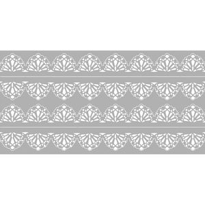 Scrap-Embelezadores-Cardboard-Litoarte-SCE-002-Aplique-Barra-Renda