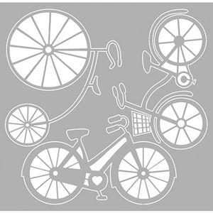 Scrap-Embelezadores-Cardboard-Litoarte-SCEP-009-Aplique-Bicicletas
