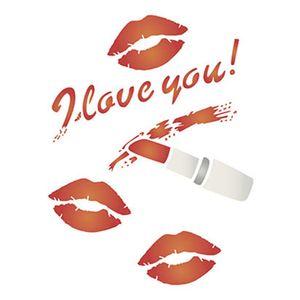 Stencil-Litoarte-STM-536-211X172cm-Pintura-Simples-I-Love-You-by-Rose-Ferreira