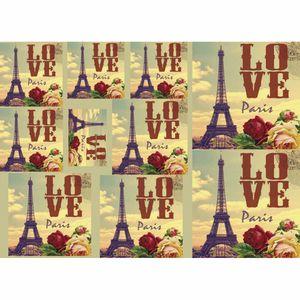 Papel-Decoupage-Litocart-LD-862-34x48cm-Love-Paris