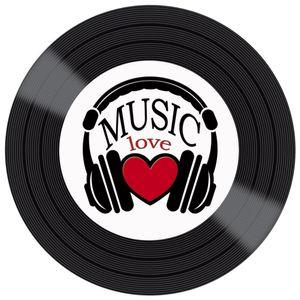 Placa-Decorativa-Litocart-LPDV-003-30x30cm-Disco-Vinil-Music-Love