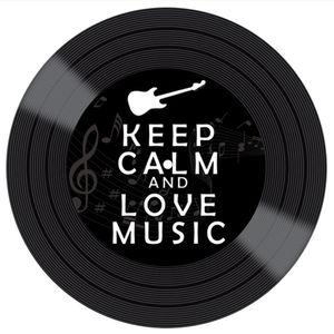 Placa-Decorativa-Litocart-LPDVP-001-20x20cm-Disco-Vinil-Keep-Calm-And-Love-Music