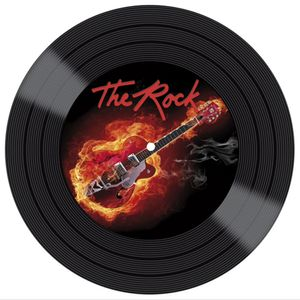 Placa-Decorativa-Litocart-LPDVP-002-20x20cm-Disco-Vinil-The-Rock