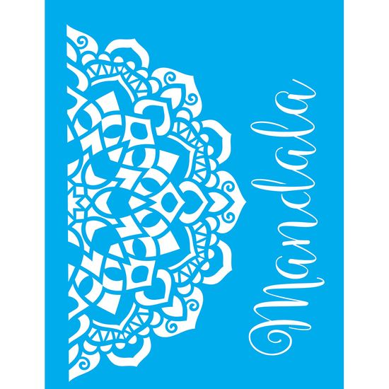 Stencil-Litocart-LSM-073-20x15cm-Pintura-Simples-Mandala
