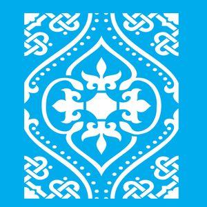 Stencil-Litocart-LSPG-004-30x30cm-Pintura-Simples-Estampa-Azulejo