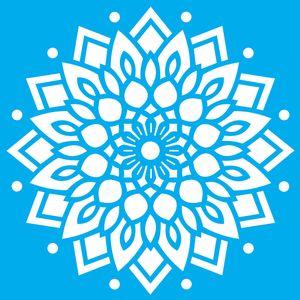 Stencil-Litocart-LSPQ-008-25x25cm-Pintura-Simples-Mandala-Ornamental