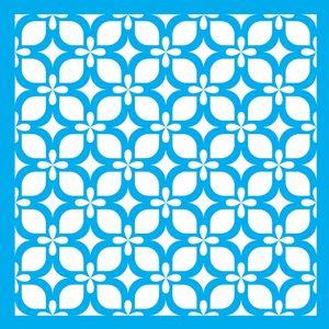 Stencil-Litocart-LSQ-092-20x20cm-Pintura-Simples-Estampa-Retro