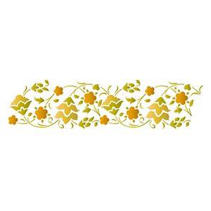 Stencil-Epoca-Litoarte-STE-320-285x84cm-Pintura-Simples-Flores