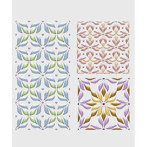 Stencil-Litoarte-STM-551-211X172cm-Pintura-Simples-Natal-Barrado-Floral-by-Mara-Fernandes