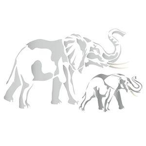 Stencil-Litoarte-ST-200-Pintura-Simples-344x21cm-Elefantes