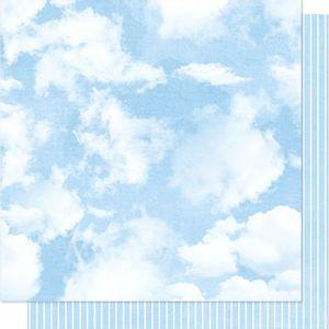Papel-Scrapbook-Litoarte-SD-011-Dupla-Face-305X305cm-Nuvens-e-Listras