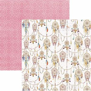 Papel-Scrapbook-Toke-e-Crie-SDF783-Dupla-Face-305x305cm-Filtro-dos-Sonhos-Manuscrito