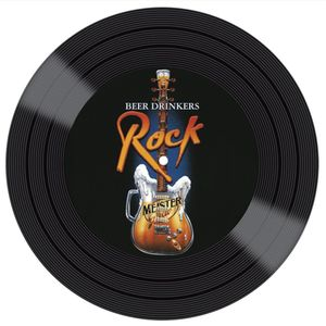 Placa-Decorativa-Litocart-LPDVP-008-20x20cm-Disco-Vinil-Guitarra-e-Rock