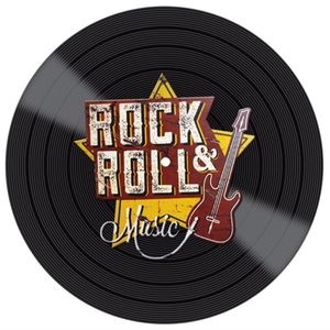 Placa-Decorativa-Litocart-LPDVP-010-20x20cm-Disco-Vinil-Rock---Roll
