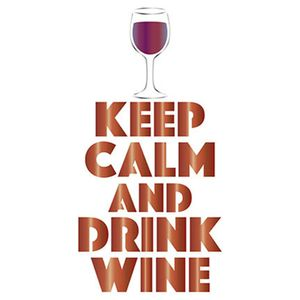 Stencil-Litoarte-Natal-STM-398-211X172cm-Pintura-Simples-Keep-Calm-And-Drink-Wine