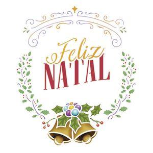 Stencil-Litoarte-Natal-STMN-031-172x21cm-Pintura-Simples-Coroa-Natalina-com-Sinos-Feliz-Natal-by-Mara-Fernandes