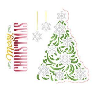 Stencil-Litoarte-Natal-STMN-036-172x21cm-Pintura-Simples-Arvore-Natalina-Merry-Christmas-by-Mara-Fernandes