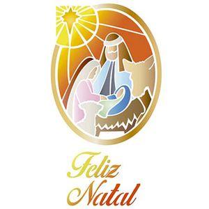 Stencil-Litoarte-Natal-STNGG-039-21x40cm-Pintura-Simples-Jesus-Maria-e-Jose-by-Mara-Fernandes