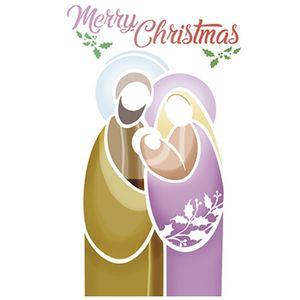 Stencil-Litoarte-Natal-STNGG-017-Pintura-Simples-21x40cm-Presepio-Merry-Christmas-by-Mara-Fernandes