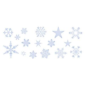 Stencil-Litoarte-Natal-STNG-001-17x42cm-Pintura-Simples-Estrelas