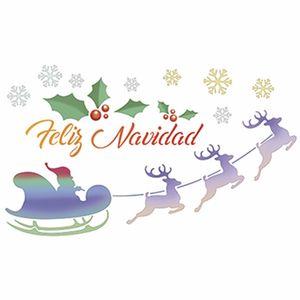 Stencil-Litoarte-Natal-STNGG-023-21x344cm-Pintura-Simples-Treno-e-Renas-Feliz-Navidad-by-Mara-Fernandes