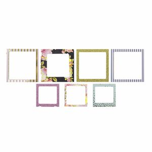 Molduras-American-Crafts-WER056-com-7-unidades-Photo-Frames