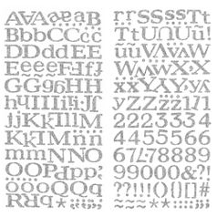 Adesivo-Thickers-Chipboard-American-Crafts-WER054-Alfabeto-Glitter-Prata-2-Unidades