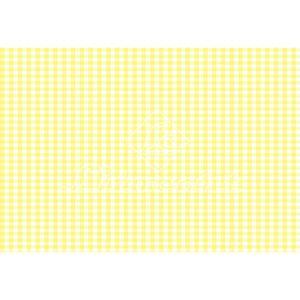 Papel-Decoupage-Litocart-LD-135-34x48cm-Xadrez-Amarelo