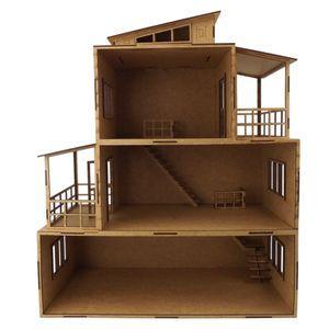 Enfeite-Decorativo-em-MDF-Casa-de-Boneca-com-Sacada-3-Andares-55x42x21cm---Palacio-da-Arte