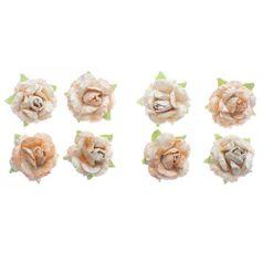 Flores-Artesanais-Rosas-Toke-e-Crie-FLOR166-Coral-Colecao-Classica-com-Glitter