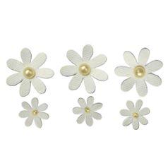 Flores-Artesanais-Margarida-Toke-e-Crie-FLOR169-Marfim-Colecao-Delicada