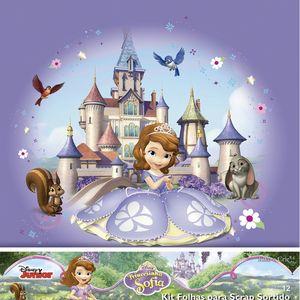 Kit-Papel-Scrapbook-Toke-e-Crie-SDFD135-Dupla-Face-305x305cm-com-12-Folhas-Sortidas-Disney-Princesinha-Sofia