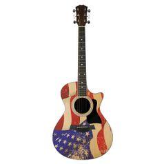 Placa-Decorativa-Litocart-LPRG-02-442x17cm-Violao-Estados-Unidos