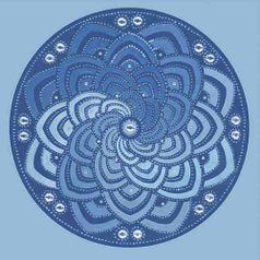 Adesivo-Decoupage-Redondo-Litocart-LAR-017-205x205cm-Mandala-Abstrato