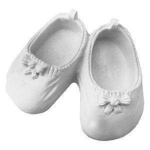 Aplique-Par-de-Sapatos-de-Bebe-com-Laco-85x7x3cm-–-Resina