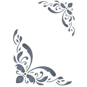 Stencil-Opa-15x20cm-para-Pintura-Simples-OPA232-Cantoneira-Imperial