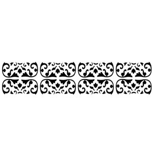 Stencil-Opa-6x30cm-para-Pintura-Simples-OPA822-Medieval