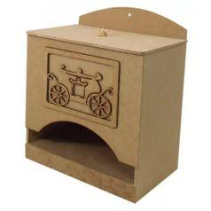 Porta-Fraldas-3D-em-MDF-Carruagem-Principe-245x16x21cm---Palacio-da-Arte