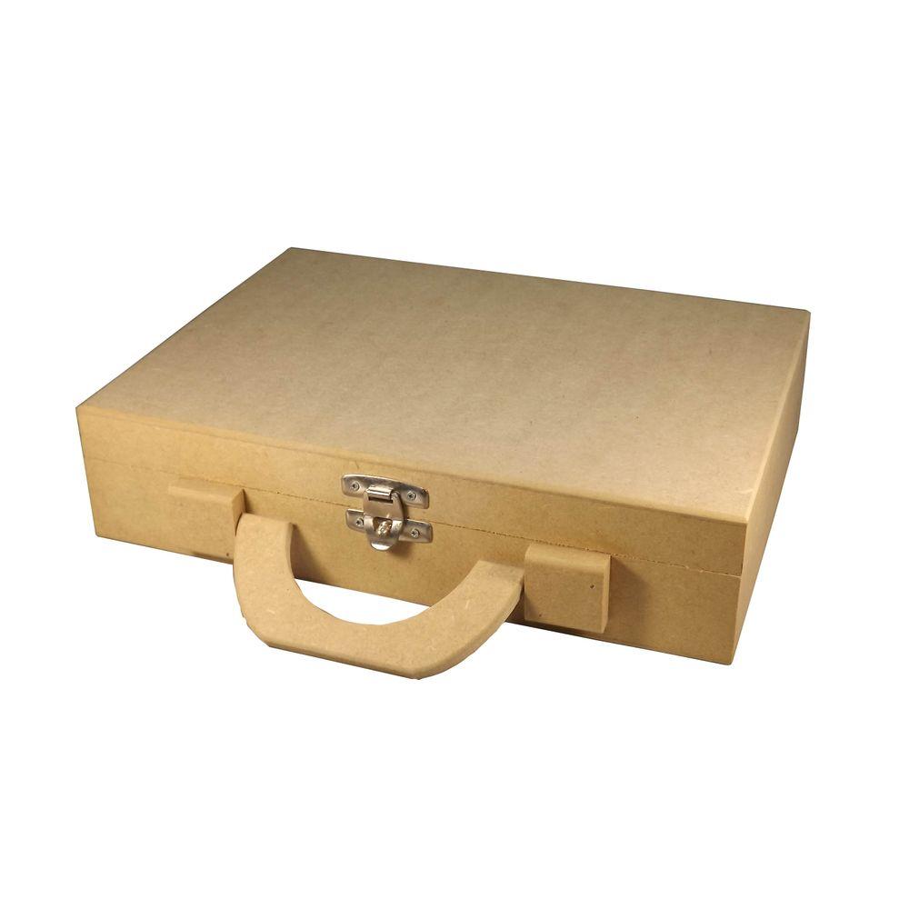 534fdc82fe Maleta para Documentos e Acessórios - MDF - PalacioDaArte