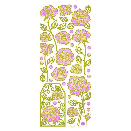 Adesivo-Fashion-cGlitter-Rosas-AD1352-TEC--10147-