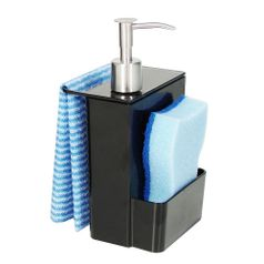 Porta-Detergente-Dispenser-Multi-600ml-Retro-Preto-20719-0008---Coza