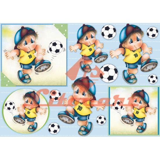 Papel-Decoupage-Grande-Futebol-Brasil-LD-707-Litocart-